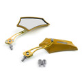 8MM 10MM Universal CNC Machined Mirrors Maple Gold