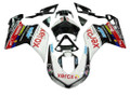 Fairings Ducati 1098 1198 848 White & Black 1098s Racing (2007-2011)