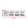 Car Trunk Rear Emblem Badge Letters S500 S-Class W220 W221 Chrome Benz
