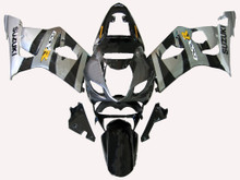 Fairings Suzuki GSXR 1000 Silver & Black GSXR Racing  (2003-2004)
