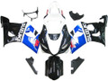 Fairings Suzuki GSXR 600 750 Black Blue GSXR Racing  (2004-2005)