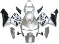 Fairings Honda CBR 600 RR Silver & Black Flame Racing (2003-2004)