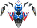 Fairings Suzuki GSXR 1000 Blue Red White Makita Racing  (2007-2008)