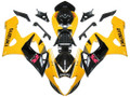 Fairings Suzuki GSXR 1000 Yellow & Black GSXR Racing  (2005-2006)
