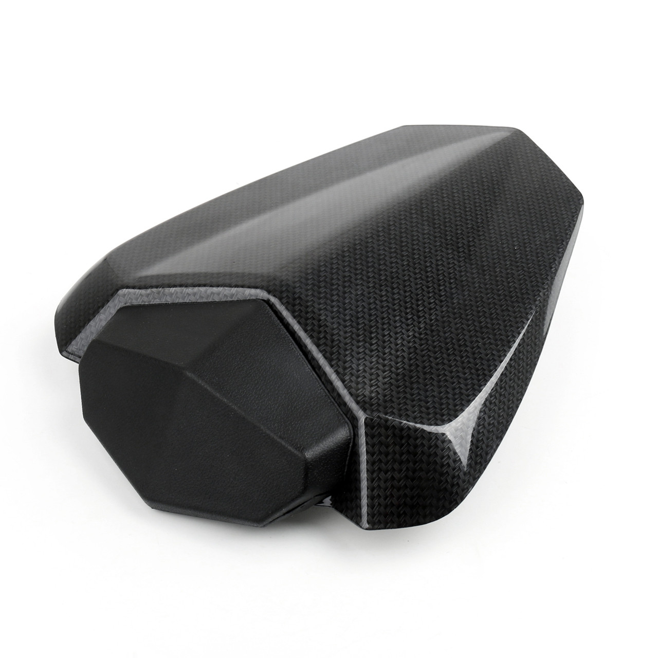 Astonishing Seat Cowl Passenger Pillion Seat Cover Yamaha R1 Yzfr1 2009 2010 Faux Carbon Gamerscity Chair Design For Home Gamerscityorg