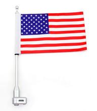 Flag Pole Mount Luggage Rack Vertical USA Honda GoldWing GL1800 2001-2012