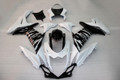 Fairings Plastics Suzuki GSXR600 GSXR750 K11 White Black Silver Checkered GSXR (2011-2014)