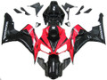 Fairings Honda CBR 1000 RR Black and Red CBR Racing (2006-2007)