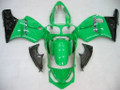 Fairings Kawasaki ZX12R Green & Black ZX12R Racing (2000-2001)