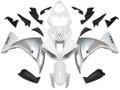 Fairings Yamaha YZF-R1 White Silver R1 Racing (2009-2012)