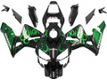Fairings Honda CBR 600 RR Black & Green Flame Racing (2003-2004)