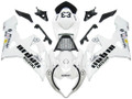 Fairings Suzuki GSXR 1000 White & Black Jordan Racing  (2005-2006)
