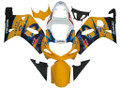 Fairings Suzuki GSXR 750 Yellow Blue Corona GSXR Racing  (2000-2003)