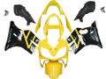 Fairings Honda CBR 600 F4i Yellow & Black F4i Racing (2001-2003)