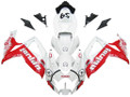 Fairings Suzuki GSXR 600 750 White & Red Jordan Racing  (2006-2007)