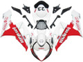 Fairings Suzuki GSXR 1000 White & Red Jordan Racing  (2005-2006)