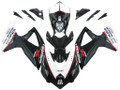 Fairings Suzuki GSXR 600 750 Black White GSXR Racing  (2008-2009-2010)