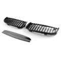 Kidney Grille BMW E90 3 Series Sedan Wagon 4 Door (05-08) Gloss Black
