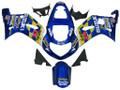 Fairings Suzuki GSXR 600 Blue Movistar Suzuki Racing  (2001-2003)