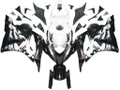 Fairings Honda CBR 600 RR Black & White Tribal Racing (2009-2012)