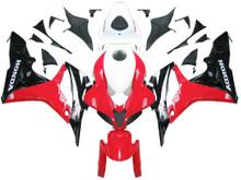 Fairings Honda CBR 600 RR Red White Black Honda Racing (2007-2008)
