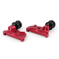 CNC Swingarm Spool Adapters Yamaha YZF-R25 (2015) Red