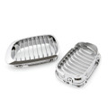 Front Fence Grill Grille BMW E46 2 Doors (1999-2002) 3 Series, Chrome