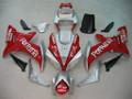 Fairings Yamaha YZF-R1 Red Silver Fortuna Racing (2002-2003)