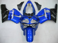 Fairings Kawasaki ZX12R Ninja Blue Black ZX12R Racing (2002-2004)