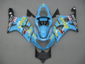 Fairings Suzuki GSXR 1000 Blue Black Rizla Racing  (2000-2002)