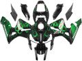 Fairings Honda CBR 600 RR Black & Green Flame Racing (2005-2006)