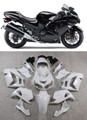Fairings Plastics Kawasaki ZX14R Ninja Black Racing (2012-2015)