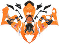 Fairings Suzuki GSXR 1000 Orange & Black GSXR Racing  (2005-2006)