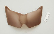 Headlight Lens Shield Cover for Kawasaki Z1000 (2007-2008) Smoke