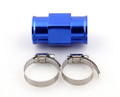 28mm Water Temp Joint Pipe Temperature Gauge Radiator Adapter Hose Sensor, Blue