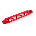 19cm Billet Aluminum Light Weight Battery Tie Down Bar, Red