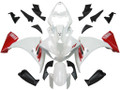 Fairings Yamaha YZF-R1 White Red R1 Racing (2009-2012)