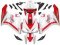 Fairings Honda CBR 1000 RR White Red Honda Racing (2004-2005)