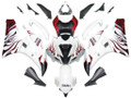 Fairings Yamaha YZF-R6 White & Red Flame R6 Racing (2006-2007)