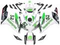 Fairings Honda CBR 1000 RR White No.52 Hannspree Racing (2004-2005)