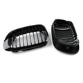 Front Fence Grill Grille BMW E46 2 Doors (1999-2002) 3 Series, Gloss Black