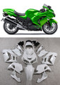 Fairings Plastics Kawasaki ZX14R Ninja Green Flame Racing (2012-2015)
