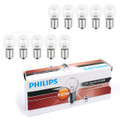 10PCS Genuine PHILIPS 13498 24V 21W P21W BA15s Standard Signal Light Lamp Bulbs