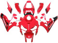 Fairings Honda CBR 600 RR Red White Black Tribal CBR Racing (2005-2006)