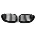 Kidney Grille BMW E60 E61 5 Series (2003-2010) Matte Black