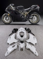 Fairings Ducati 1098 1198 848 Black 1198 Racing (2007-2011)
