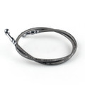 "33"" 85cm Brake Line Oil Hose Banjo Fitting Stainless Steel End"
