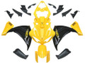 Fairings Yamaha YZF-R1 Yellow Black  R1 Racing (2009-2012)