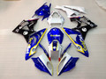 Fairings BMW S1000RR Blue Gold Bet Racing (2009-2014)