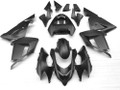Fairings Kawasaki ZX 10R Black Matte Ninja Racing (2004-2005)